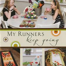 MY RUNNERS KEEP GOING Quilt Applique Projects Disa Designs Matryoshka Dolls Owl