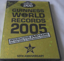 DVD Guinness World Records 2005 [50th Édition Anniversaire] [DVD] NEUF (Guiness)