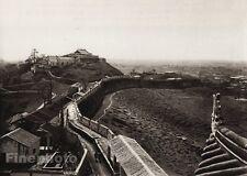 1906 Vintage CHINA GUANGZHOU Kuanyin Town Architecture Landscape Art BOERSCHMAN