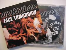 "MOUTHPIECE ""FACE TOMORROW"" - MAXI CD - STRAIGHT EDGE"
