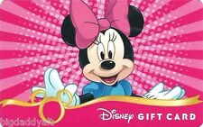 New Disney Minnie Mouse Fab 5 Bam Series Collectible Gift Card No Cash Value