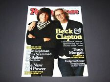 Rolling Stone Magazine Issue #1099 March 2010 Jeff Beck & Eric Clapton Exclusive