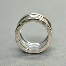 Bulgari Bvlgari 18K White Gold B.Zero 1 Ring