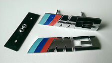 BMW M3 BADGE SET FRONT GRILLE & REAR BADGES M SPORT M3 E36 E46 E90 F80