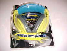 iHip Over The Ear Headphones - Extra Bass, Stereo, Yellow - IP-MHP999-BLUE