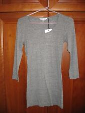 New CAbi Granite Ribbed Henley Size Small
