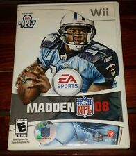 Madden NFL 08 (Wii, 2007) *COMPLETE* SHIPS FREE Mon-Sat!