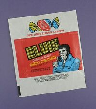 Elvis Presley Original 1970's Bubblegum Card Wrapper