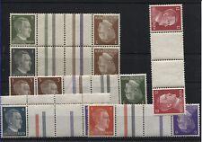 Insieme stampe KZ 37 + 38, KZ 38 +782, KZ 39, KZ 40 e KZ 41 (b04253)