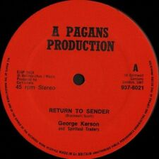 "GEORGE KERSON return to sender 937-6021 uk pagans music 12"" WS EX/"