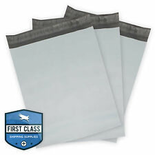 "100 Poly Envelope Mailers Shipping Bags - 12"" x 15.5"" - Gray"