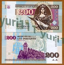 San Marino, 200 Lire, 2016, Private Issue, UNC