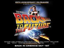RITORNO AL FUTURO BACK TO THE FUTURE MANIFESTO STEVEN SPIELBERG MICHAEL J. FOX