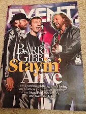 THE BEE GEES Barry Gibb Photo Cover Interview Event Magazine September 2016