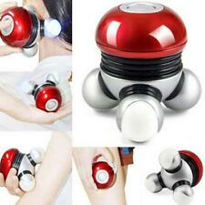 LED Mini Hand held Muscle Vibration Body Back Leg Massager  Relax Massage O