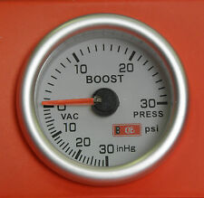 S2 52mm Boost gauge 30 Psi R5 GT Clio Megane Leguna Petrol or Diesel Turbo