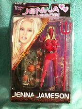 Adult Superstars figure |JENNA JAMESON Halloween Red Devil | Plastic Fantasy