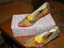 CHANDINI'S COLLECTION INDIAN WEDDING/PARTY SHOES UK 4 New
