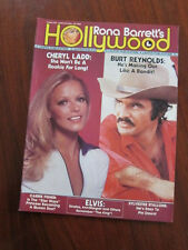 Hollywood Jan 1978 Cheryl Ladd Burt Reynolds Carrie Fisher Sylvester Stallone