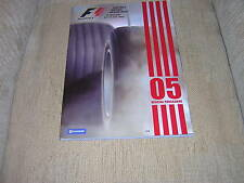 2005 OFFICIAL F1 SILVERSTONE GRAND PRIX PROGRAMME