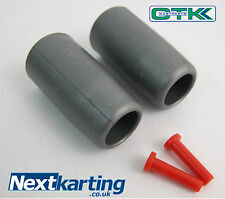 TonyKart / OTK Side Pod Bar Gray Sleeve And Pins Set EVR EVK 401 NextKarting