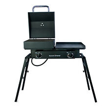 NEW Blackstone Tailgater Combo Tailgate Grill Cast Iron Plates Cooker Camping