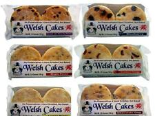 24 Hand Griddled Welsh Cakes - 6 Flavor Variety Pack - Ships for Free!