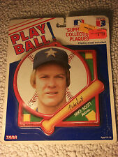 Play Ball! Superstar Collectible Plaque-MIKE SCOTT-ASTROS