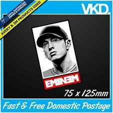 Eminem Sticker/ Decal - D12 8 Mile DVD CD 50 Cent RAP Rapper OBEY Laptop Detroit