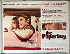 Cinema Poster: PAPERBOY, THE 2013 (Quad) Zac Efron Matthew McConaughey