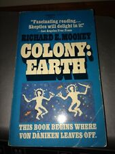 OCCULT COLONY EARTH Used By Richard E. Mooney