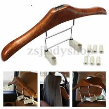 Adjustable Auto Car Seat Headrest Clothes Coat Jacket Suit Hanger Plastic Holder