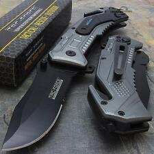 Tac-Force Air Forces Speedster pocket knife with seat belt cutter.