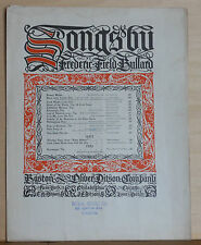The Kavanagh - 1901 large sheet music - Trio for Men's Voices, Irish song