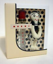 MARNI  PERFUME EAU DE PARFUM  SPRAY WOMEN .34 FL OZ / 10 ML + HUGGY DOLL SET NIB