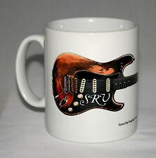 Guitar Mug. Stevie Ray Vaughan's Fender Stratocaster #1 illustration.