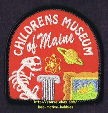 LMH PATCH Badge  CHILDRENS MUSEUM of MAINE  pre 2008 THEATRE Merger Founded 1976