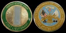 US ARMY FIRST LIEUTENANT O2 RANK CHALLENGE COIN MILITARY COLLECTIBLE COINS