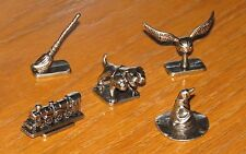Harry Potter metal figure tokens Fluffy 3 Headed Dog Train Snitch Sorting Hat