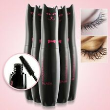 Natural Black Mascara Long Curling Eyelash Extension Grower Sexy Makeup Cosmetic