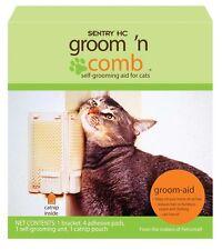 Sentry Groom N Comb Catnip CAT Self Groomer Kitty Korner Komber Grooming Brush
