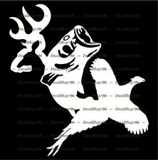 Deer-Fish-Pheasant - Outdoor Hunting/Fishing - Vinyl Die-Cut Peel N' Stick Decal