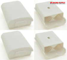 Lot 4 x White Battery Pack Holder Cover Shell for XBOX 360 Wireless Controller