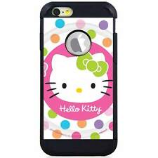 Apple iPod Touch 5/6 5th/6th Gen. Hybrid Case Cover Hello Kitty Lollipop