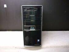 HP Envy micro atx mid tower computer case, no fans, no psu