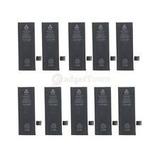 Lot 10 Internal Replacement 1510mAh Li-ion Battery w/Flex Cable for iPhone 5S/5C