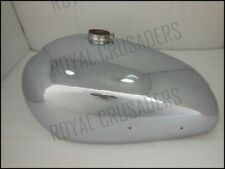 NEW NORTON ES2 CHROME STEEL PETROL TANK 1952( 2 side hole for knee pads) (CODE74