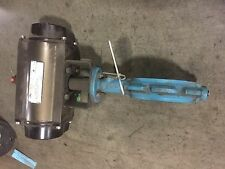 Emerson GH Bettis RP-2250 Actuator with Grinnell Butterfly Valve