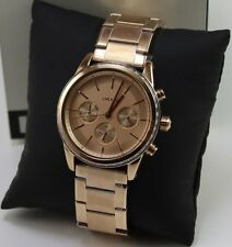 NEW AUTHENTIC DKNY ROCKAWAY ROSE GOLD CHRONOGRAPH LADIES WOMEN'S NY2331 WATCH
