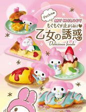 New Re-Ment Sanrio My Melody Delicious Foods All 8 types Full Set from Japan F/S